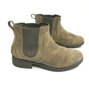 ♣️UGG Bonham II Dove Tan Chelsea Boots Womens 11
